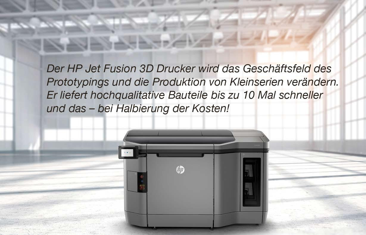 HP Jet Fusion 3D Printing Solution, 3D-Drucker