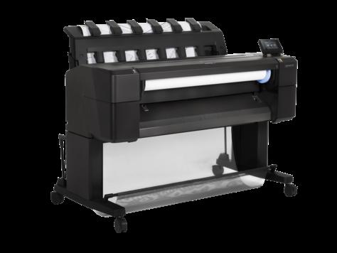 hp gro formatdrucker plotter t serie designjet t930 36. Black Bedroom Furniture Sets. Home Design Ideas