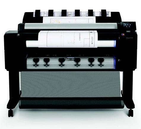 hp gro formatdrucker plotter t serie designjet t2530 36. Black Bedroom Furniture Sets. Home Design Ideas