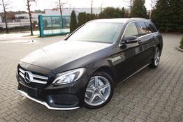 Mercedes-Benz C-Klasse T-Modell - C200 4MATIC AUTOMATIK AMG LINE-BURMESTER-NAVI-KEYLESS GO-PARK PILOT