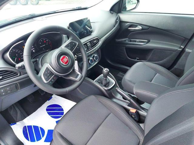 Lagerfahrzeug Fiat Tipo - 1.0 100PS MY2021 KLIMA-UCONNECT-VERKEHRSZEICHENERKENNUNGSSYSTEM