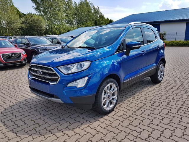 Ford EcoSport - Titanium PDC/KAMERA/SHZ/LMF