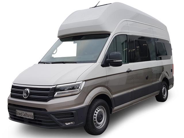 Volkswagen Grand California - 600 Truma Combi 6, Querschläfer, 4-Sitzer, Küche Bestellfahrzeug, konfigurierbar