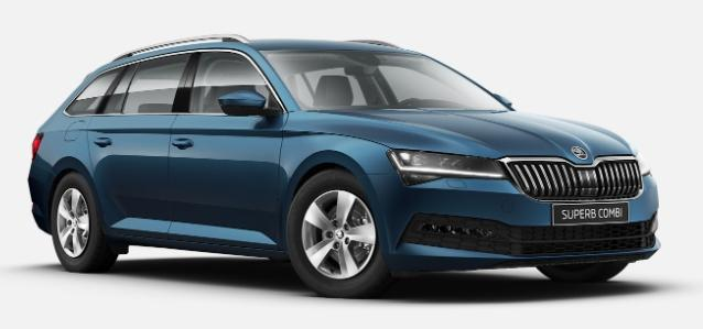 Skoda Superb Combi - Ambition LED/DAB/GRA/16