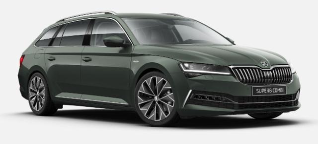 Skoda Superb Combi - Laurin & Klement LED/NAVI/DCC/18