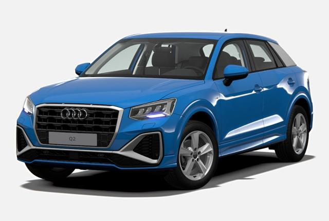 Bestellfahrzeug, konfigurierbar Audi Q2 - S line MJ 2021 / PDC h/ LED