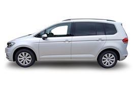 VW Touran EU-Neuwagen Reimport, Beispielbilder, ggf. teilweise mit Sonderausstattung