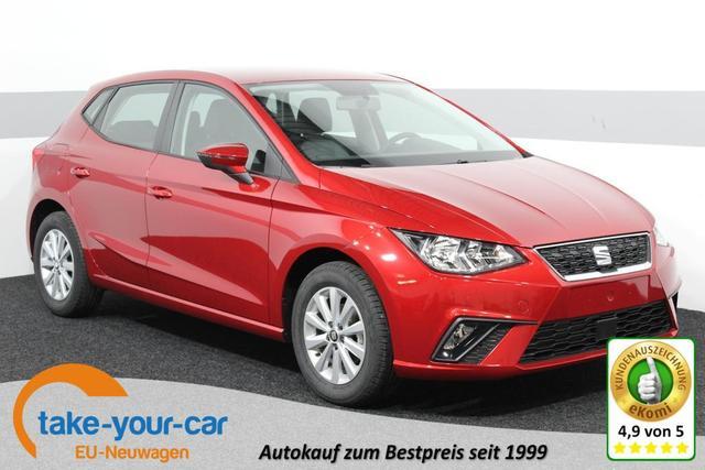 Seat Ibiza - Style PLUS KLIMAAUTOMATIK Licht/Regensensor ALU Bluetooth MF-Lenkrad Vorlauffahrzeug