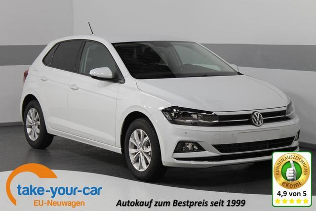 Volkswagen Polo - EDITION STYLE LED ACC SHZ RFK ParkPilot KLIMAAUTOMATIL ALU Vorlauffahrzeug