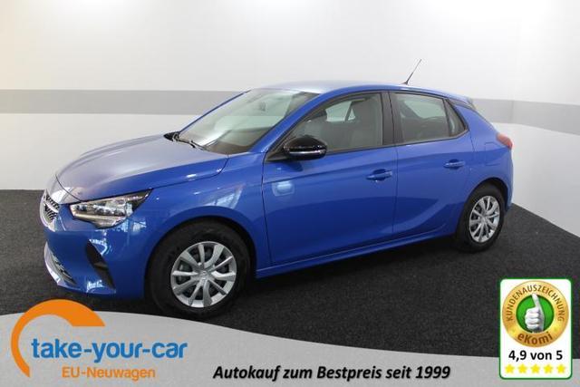 Opel CORSA F MODELL - EDITION MirrorlLink DAB Bluetooth MF-Lederlenkrad KLIMA Vorlauffahrzeug