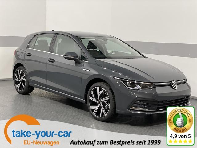 Volkswagen Golf VIII - STYLE PLUS IQ.LED KEYLESS 18ALU NAVI PARK ASSIST RFK ACC Vorlauffahrzeug