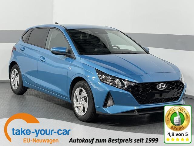 Hyundai i20 - COMFORT PLUS DCT MHEV RFK SHZ PDC KLIMAAUTOMATIK TEMPOMAT Vorlauffahrzeug
