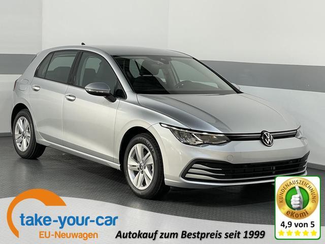 Volkswagen Golf VIII - LIFE PLUS ACC LED Fernlichassistent AppConnect ActiveInfoDisplay ParkPilot Vorlauffahrzeug