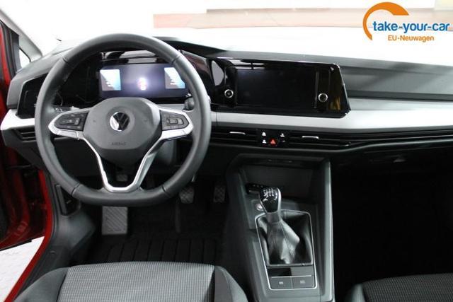 Volkswagen Golf VIII EDITION PDC v+h LED Licht/Regensensor KLIMAAUTOMATIK ActiveInfoDIsplay