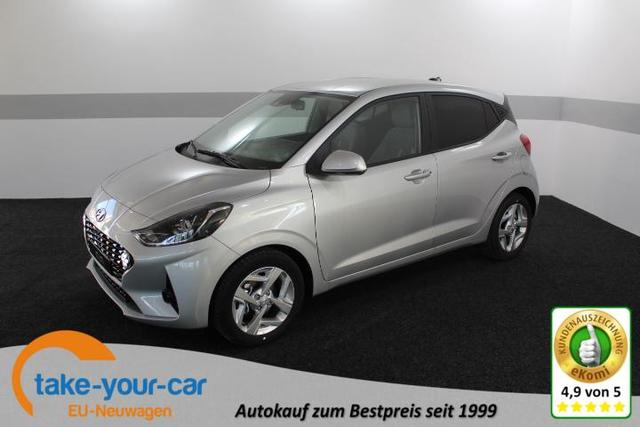 Hyundai i10 - STYLE PLUS KLIMAAUTOMATIK ALU TEMPOMAT RFK AndroidAuto CarPlay Vorlauffahrzeug