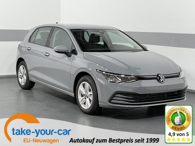 Volkswagen Golf VIII - LIFE PLUS ACC LED RFK AppConnect ActiveInfoDisplay ParkPilot Vorlauffahrzeug