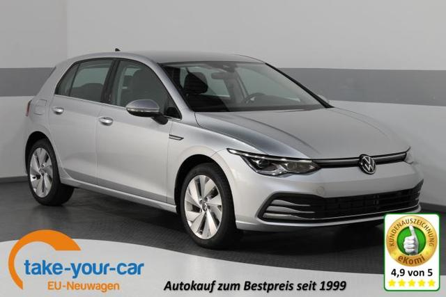 Volkswagen Golf VIII - STYLE PLUS SHZ NAVI ActiveInfoDisplay ACC LED ParkPilot Vorlauffahrzeug