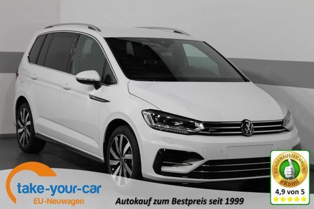 Volkswagen Touran - R-LINE EDITION DSG 7-Sitzer NAVI ActiveInfoDisplay RFK SHZ Line Side Assist LED ACC 18ALU Vorlauffahrzeug