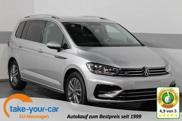 Volkswagen Touran - R-LINE EDITION DSG SHZ LED RFK ACC ParkPilot KLIMAAUTOMATIK Vorlauffahrzeug