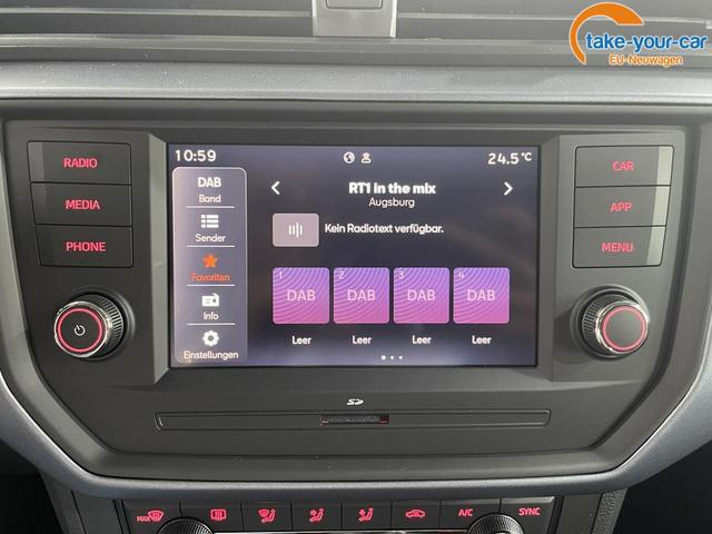 Seat Arona STYLE KLIMAAUTOMATIK RFK SHZ PDC v+h Full Link TEMPOMAT