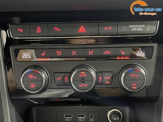Seat Ateca XCELLENCE DSG AWD NAVI LED KESSY DigitalCockpit TopViewKamera SHZ ParkAssist Fernlicht LaneAssist