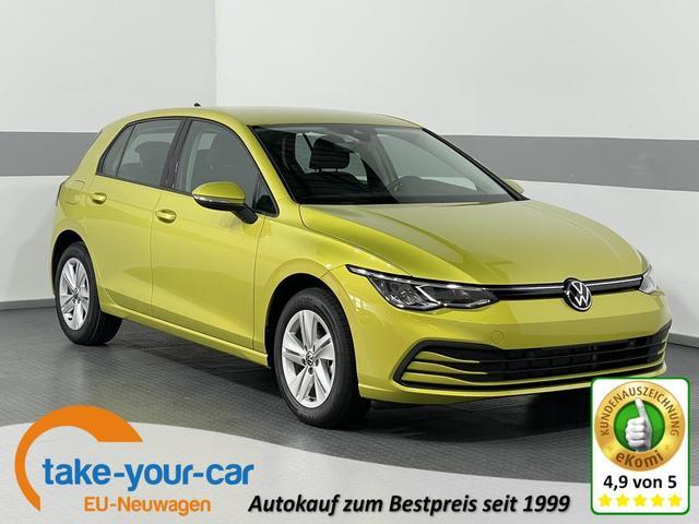 Volkswagen Golf VIII - LIFE PLUS LED ACC ActiveInfoDisplay RFK ParkPilot LaneAssist SideAssist KLIMAAUTOMATIK Vorlauffahrzeug
