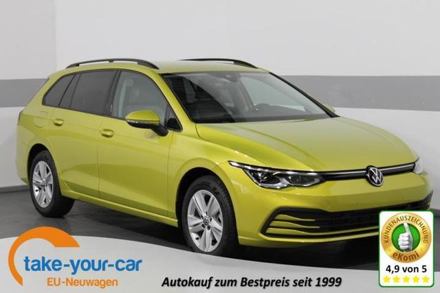 Volkswagen Golf VIII Variant - LIFE PLUS DSG LED-PLUS ACC Side/Lane-Assist ParkPilot 3-Zonen-AirCar Vorlauffahrzeug