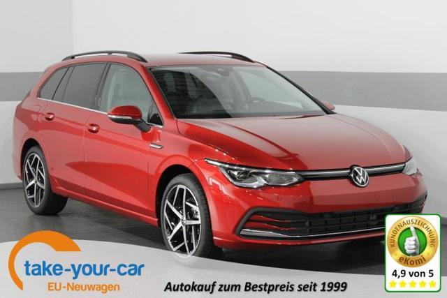 Volkswagen Golf VIII Variant - STYLE PLUS IQ-Matrix SHZ NAVI PDC v h AirCare ACC 18ALU ActiveInfoDIsplay Vorlauffahrzeug