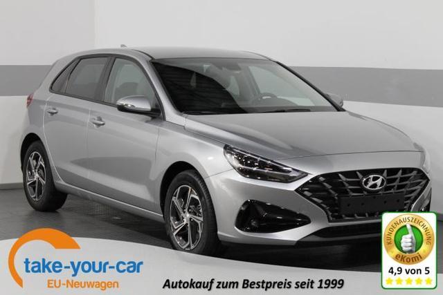 Hyundai i30 FACELIFT - STYLE PLUS LED TEMPOMAT KLIMAAUTOMATIK PDC Vorlauffahrzeug