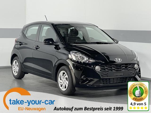 Hyundai i10 - COMFORT RADIO KLIMA BLUETOOTH DAB TEMPOMAT Vorlauffahrzeug