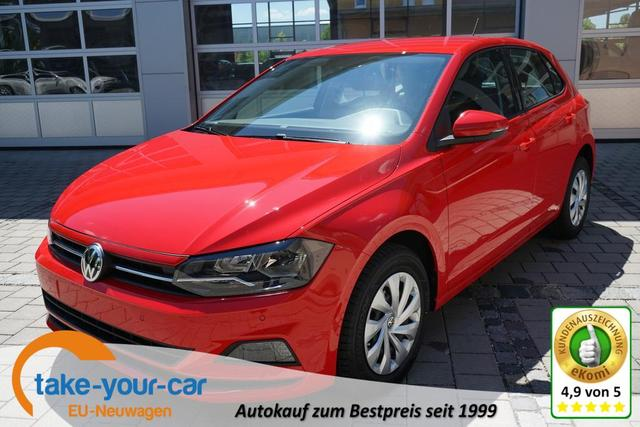 Volkswagen Polo - 1.0 59kW COMFORTLINE Eu6dTemp MEDIA TEMPOMAT PDC Vorlauffahrzeug