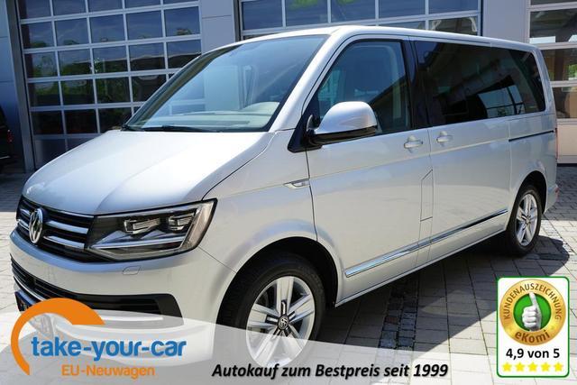 Volkswagen T6 Multivan - HIGHLINE 2.0TDI 146kW DSG LEDER NAVI AHK LED STANDHEIZUNG Vorlauffahrzeug