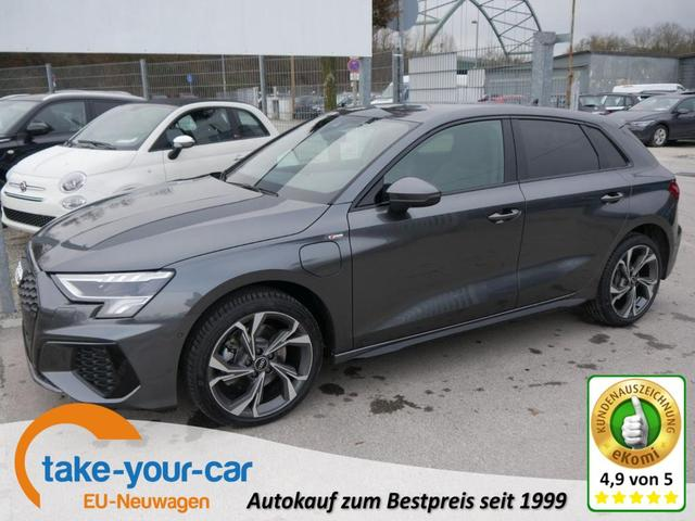 Audi A3 Sportback - 40 TFSI e S-TRONIC   S-LINE BAFA-FÄHIG ACC ASSISTENZPAKET LED NAVI PARKASSISTENT Vorlauffahrzeug