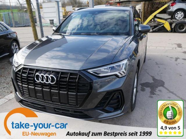 Audi Q3 - 35 TDI DPF S-TRONIC QUATTRO   S-LINE LED NAVI 18 ZOLL PDC KAMERA El. HECKKLAPPE Vorlauffahrzeug