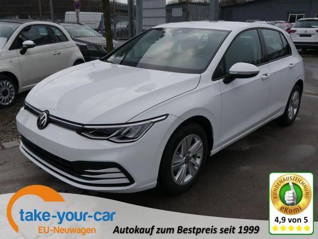 Volkswagen Golf - VIII 1.5 TSI ACT LIFE   ACC LED WINTERPAKET RÜCKFAHRKAMERA LENKRADHEIZUNG Vorlauffahrzeug