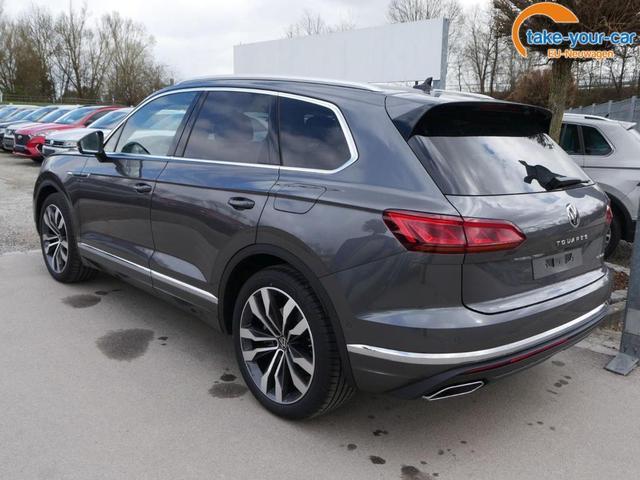 Volkswagen Touareg 3.0 V6 eHybrid 4M ELEGANCE * FAHRER-& PARKASSISTENZPAKET LEDERPAKET LUFTFEDERUNG 21 ZOLL NACHTSICHTASSISTENT HEAD-UP-DISPLAY