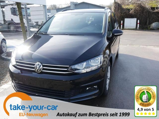 Volkswagen Touran - 1.5 TSI ACT COMFORTLINE   ACC WINTERPAKET NAVI KAMERA PDC SHZG 7-SITZER Vorlauffahrzeug