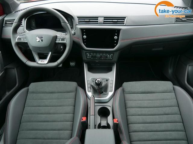Seat Arona 1.0 TSI FR * VOLL-LED PARK ASSIST NAVI 18 ZOLL VIRTUAL COCKPIT DACH SCHWARZ