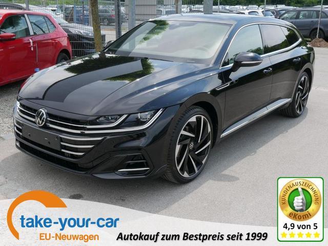 Volkswagen Arteon Shooting Brake SB 2.0 TDI DPF DSG 4M R-LINE * DCC AHK LEDER 20 ZOLL HEAD-UP-DISPLAY BUSINESSPREMIUM-ASSISTENZ-& DESIGN-PAKET PANORAMA
