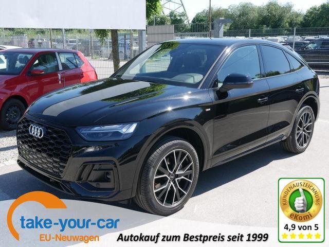 Audi Q5 - SPORTPACK 40 TDI DPF S TRONIC QUATTRO S-LINE   ASSISTENZPAKET STADT-& TOUR PANORAMA MATRIX-LED BANG & OLUFSEN Vorlauffahrzeug