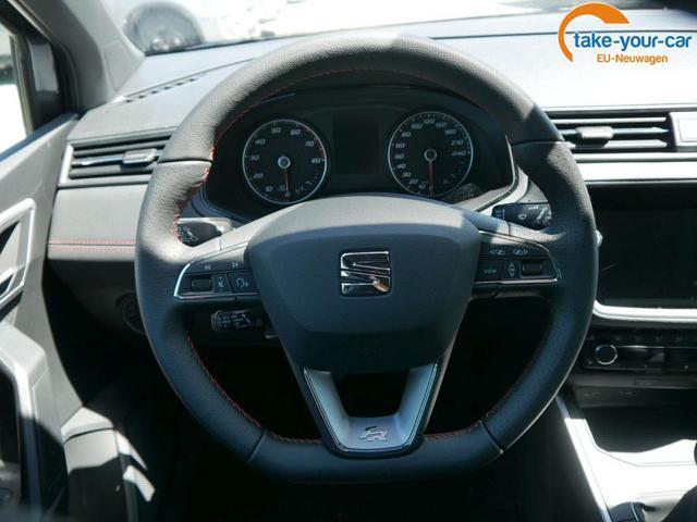 Seat Arona 1.0 EcoTSI FR * ACC FAHRASSISTENZ-PAKET VOLL-LED NAVI PARK ASSIST DACH SCHWARZ