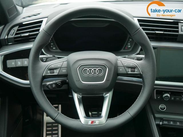 Audi Q3 Sportback 40 TDI DPF S TRONIC QUATTRO S-LINE * PANORAMA ASSISTENZPAKET MATRIX-LED 20 ZOLL UMGEBUNGSKAMERAS