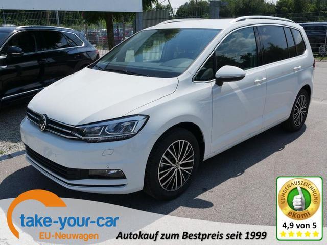 Volkswagen Touran - 1.5 TSI ACT HIGHLINE   ACC WINTERPAKET LED NAVI PDC KAMERA SHZG Vorlauffahrzeug