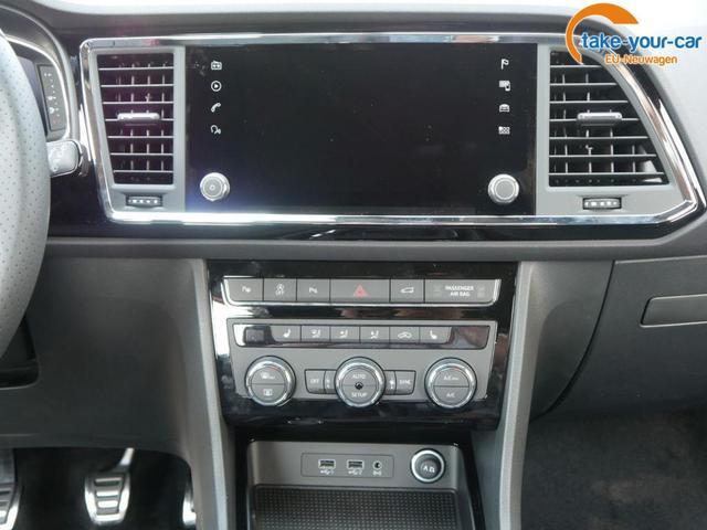 Seat Ateca 1.5 TSI ACT FR * 18 ZOLL WINTERPAKET VOLL-LED NAVI RÜCKFAHRKAMERA VIRTUAL COCKPIT