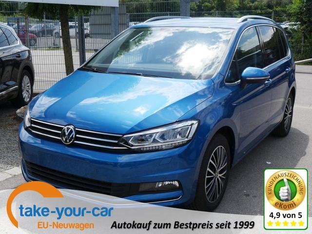 Volkswagen Touran - 1.5 TSI ACT DSG HIGHLINE   ACC WINTERPAKET LED NAVI PDC KAMERA SHZG Vorlauffahrzeug