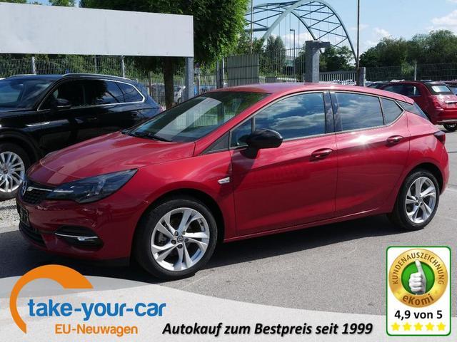 Opel Astra - 1.2 Direct Injection Turbo GS LINE   LED NAVI KAMERA PDC SITZ-& LENKRADHEIZUNG Vorlauffahrzeug