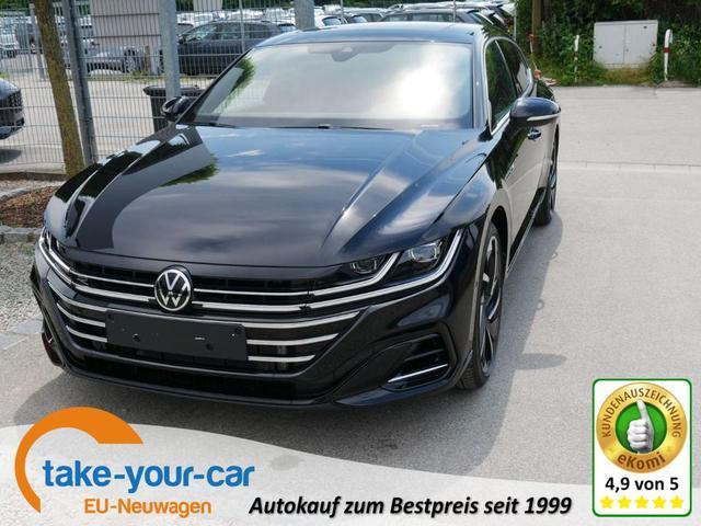 Volkswagen Arteon Shooting Brake - SB 2.0 TDI DPF DSG 4M R-LINE   DCC AHK LEDER 20 ZOLL HEAD-UP-DISPLAY BUSINESSPREMIUM-ASSISTENZ-& DESIGN-PAKET PANORAMA Vorlauffahrzeug