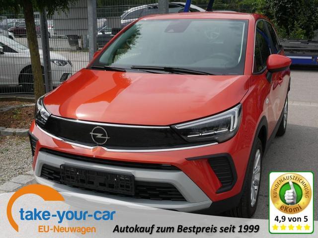 Opel Crossland - X 1.2 Direct Injection Turbo ELEGANCE   LED NAVI PARKASSISTENT RÜCKFAHRKAMERA Vorlauffahrzeug