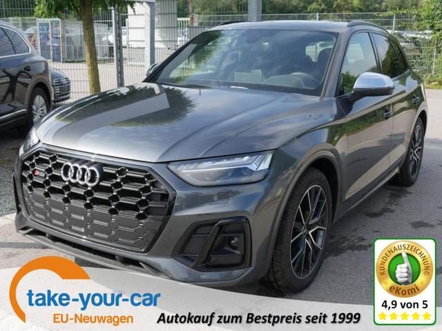 Audi SQ5 - TDI DPF TIPTRONIC QUATTRO   LEDER LUFTFEDERUNG STANDHEIZUNG ASSISTENZPAKET STADT- & TOUR PANORAMA 20 ZOLL Vorlauffahrzeug
