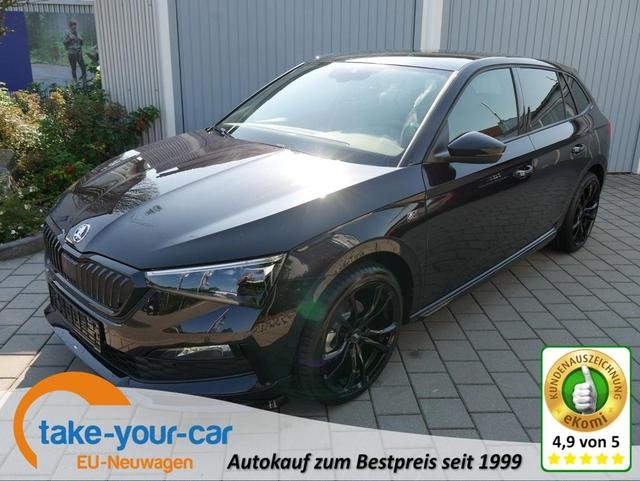 Skoda Scala 1.5 TSI ACT MONTE CARLO EDITION S BY ABT 190PS * ACC BUSINESS-PAKET GLASDACH KESSY LED